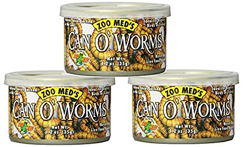 Zoo Med Laboratories Can O Worms 1 2oz Cans 3 Pack